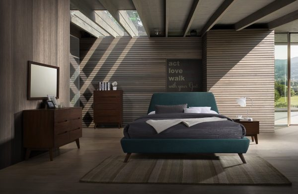"""""""The Anthony"""" Mid-Century Teal Bedroom Set – COMING IN JANUARY!"""