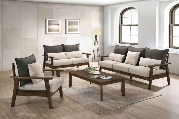 """""""The Bachelor"""" Mid-Century Modern Multi-tone Reversible Sofa Collection – SOFA ONLY!"""