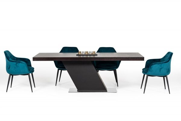 """""""The Bellamy"""" Wenge and Stainless Dining Collection – COMING IN JANUARY!"""