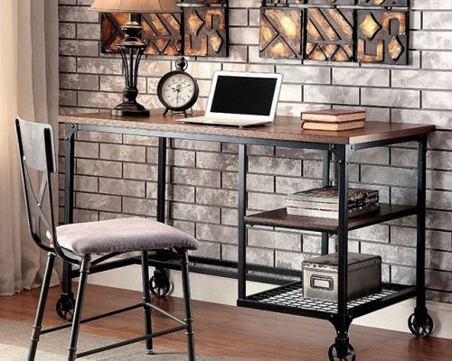 """The Capeson"" Industrial Black Desk – FINALLY IN!"