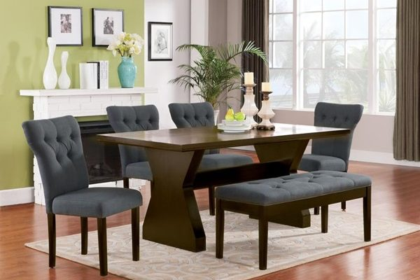 """""""The Clinton"""" Elegant Gray Dining Collection – SOLD OUT, NO ETA"""