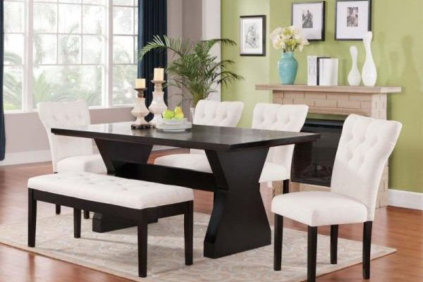 """""""The Clinton"""" Elegant Ivory Dining Collection – SOLD OUT, NO ETA"""