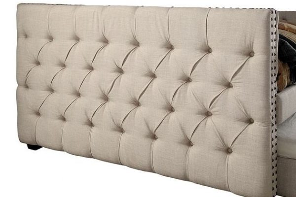 """""""The Colleen"""" Tufted Daybed w/Trundle – Twin and Full"""