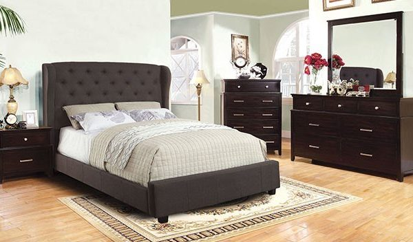 """""""The Cottage Peak"""" Grey Fabric Bed Collection – SOLD OUT, NO ETA"""