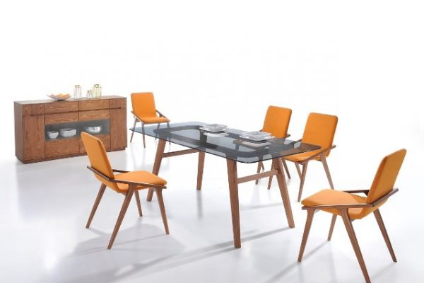 """""""The Dakota"""" Modern Smoked Glass Dining Room Collection – COMING END OF FEBRUARY!"""