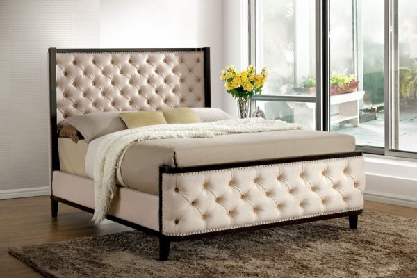 """""""The Fillmore"""" Tufted Platform Bed"""