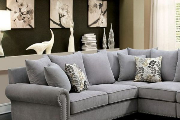 """""""The Gabrial"""" Cozy Grey Sectional – SOLD OUT, NO ETA"""