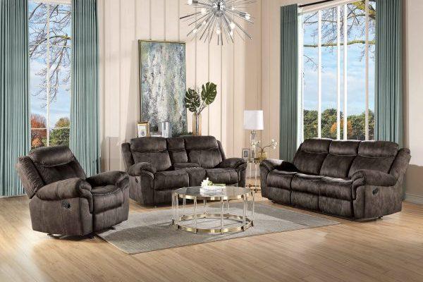 """The Havasu"" Glider Motion Sofa Set Collection"