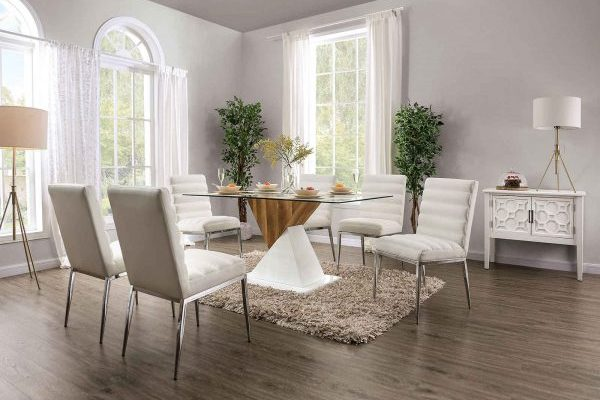 """""""The Jumanji"""" Contemporary Two-Tone Dining Set – COMING IN FEBRUARY!"""