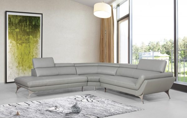 Modern Full Italian Leather Sectional Sofa for under $3K??? YES, We have them!!!!!