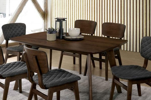 """""""The Mid Century"""" Modern Grey Walnut Dining Collection"""