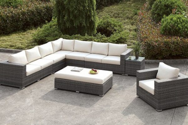 """The Romeo"" 10 PC Outdoor Sectional Collection – LOW INVENTORY!"