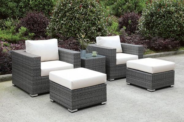"""The Romeo"" 5 PC Outdoor Patio Set – LOW INVENTORY!"