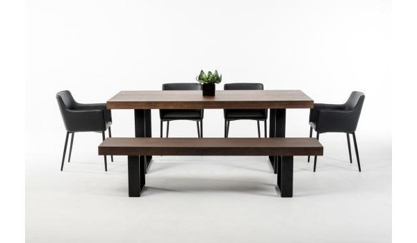 """""""The Skylar"""" Modern Wenge Dining Collection"""