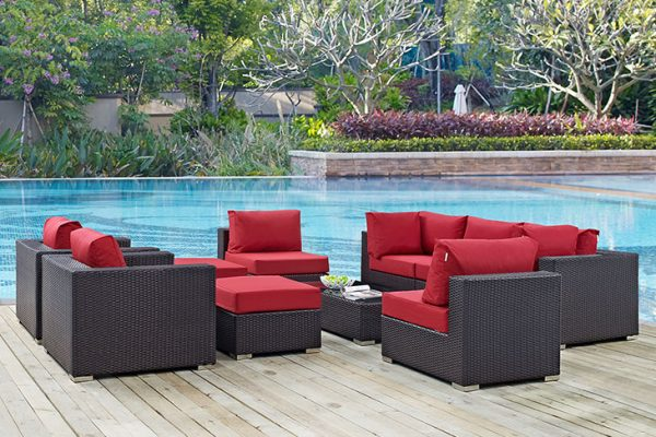 """The St. Thomas"" 10 Piece Outdoor Sofa Collection – SOLD OUT, NO ETA"