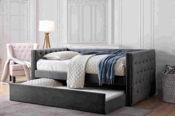 """""""The Tuxedo"""" Daybed with Trundle – 3 Colors"""